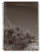 Dune And Blue Sky Spiral Notebook