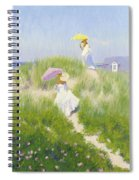 Nantucket Dune Pass  Spiral Notebook