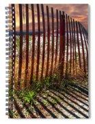 Dune Shadows Spiral Notebook