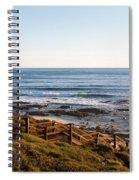 Dune Steps 01 Spiral Notebook