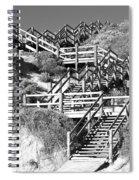 Dune Steps 02 Spiral Notebook