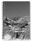 Dune Steps 03 Spiral Notebook