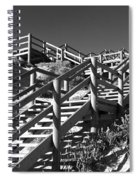 Dune Steps 04 Spiral Notebook