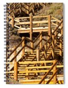 Dune Steps 05 Spiral Notebook