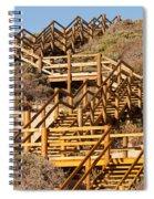 Dune Steps 06 Spiral Notebook