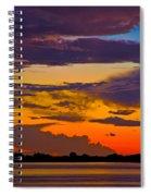 Dunedin Causeway Sunset Spiral Notebook