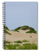 Dunes And Grasses 7 Spiral Notebook