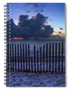 Dunes At Dawn Spiral Notebook