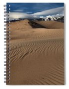 Dunes Ripples And Clouds Spiral Notebook