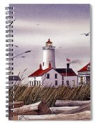 Dungeness Lighthouse Spiral Notebook