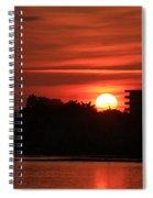 Dunlawton Sunrise Spiral Notebook