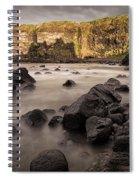 Dunluce Castle Shadow Spiral Notebook