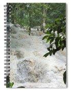 Dunns River Falls 3 Spiral Notebook