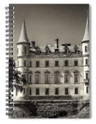 Dunrobin Castle Scotland Spiral Notebook