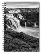 Dunseverick Waterfall Spiral Notebook