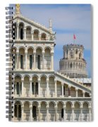 Duomo And Campanile Spiral Notebook