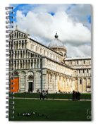 Duomo Of Field Of Dreams Spiral Notebook