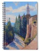Duomo Pienza Spiral Notebook