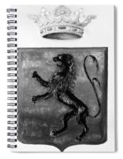 Duquesne Coat Of Arms Spiral Notebook