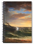 Durand's The Stranded Ship Spiral Notebook