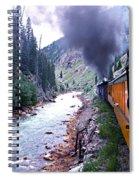 Durango To Silverton Spiral Notebook
