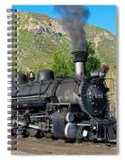 Durango To Silverton Train Spiral Notebook