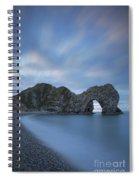 Durdle Door Colors Spiral Notebook