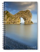 Durdle Door Sunset Spiral Notebook