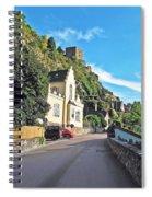 Durnstein Village Spiral Notebook