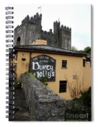 Durty Nellys And Bunraty Castle Spiral Notebook