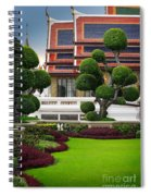 Dusita Phirom Hall Spiral Notebook