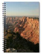 Dusk At The Canyon Spiral Notebook