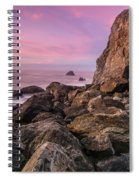 Dusk Falls Over Patrick's Point Spiral Notebook