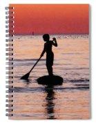 Dusk Float - Sunset Art Spiral Notebook