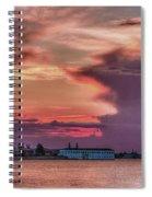 Dusk In Venice Spiral Notebook