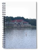 Dusk Lake D Spiral Notebook