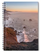 Dusk On The Northcoast Spiral Notebook