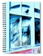 Dust In The Wind-ow... Spiral Notebook
