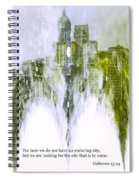 Dust To Dust Spiral Notebook