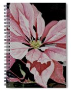 Dustie's Poinsettia Spiral Notebook