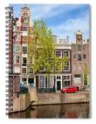 Dutch Canal Houses In Amsterdam Spiral Notebook