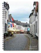 Dutch Cityscape - Thorn Spiral Notebook