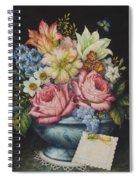 Dutch Flowers Spiral Notebook