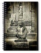 Dvarapala At Banteay Srey Spiral Notebook