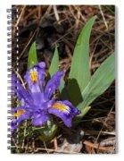 Dwarf Lake Iris Spiral Notebook