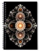 Dwarf Shield Boss Spiral Notebook