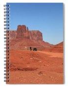 Dwarfed Spiral Notebook