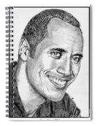 Dwayne Johnson In 2007 Spiral Notebook