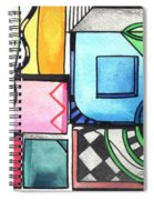 Dwelling In The Square Spiral Notebook