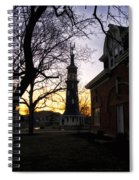 Dwight Windmill At Sunset Spiral Notebook